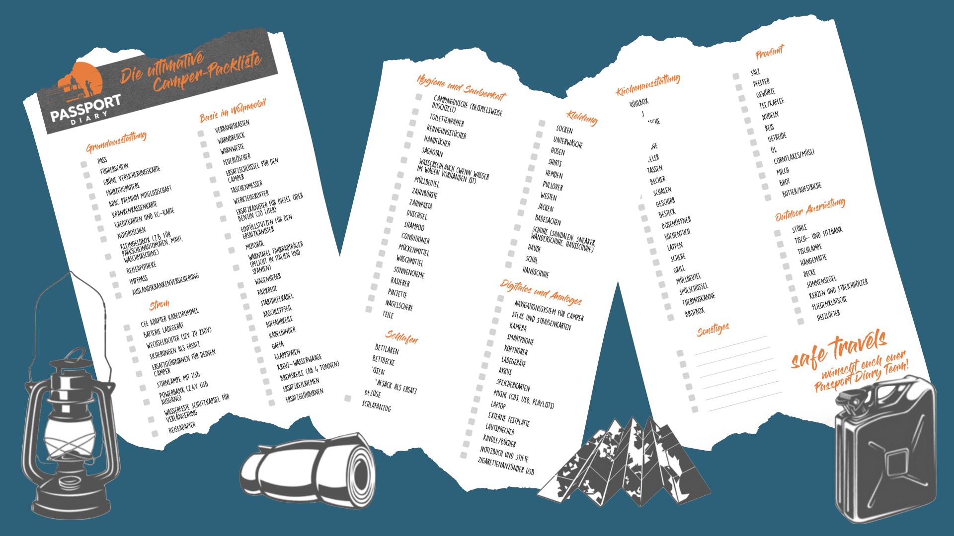 Camper Packliste Pdf Download
