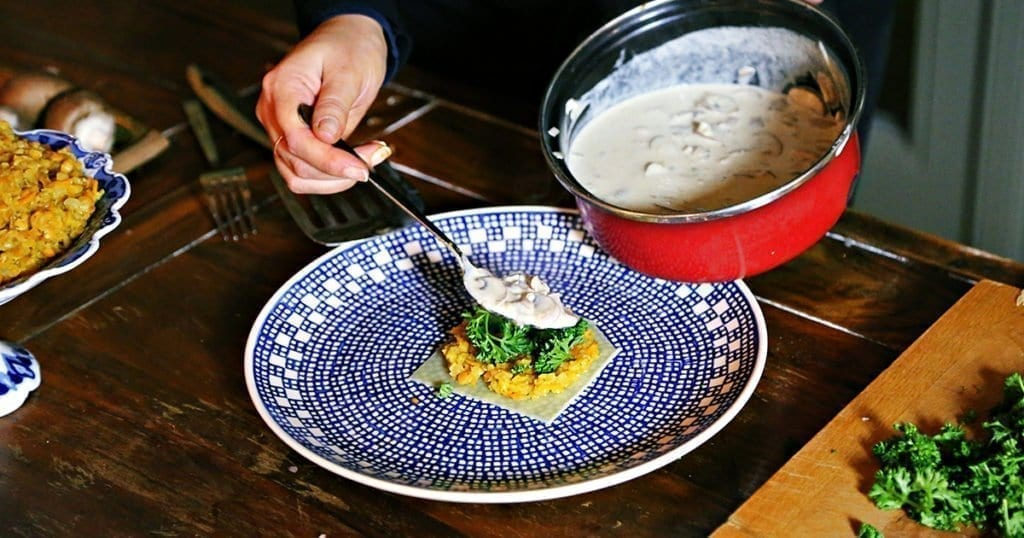 veggie-Lasagne-pilzlasagne-schnellelasagne-einfaches-nudelgericht-linsenrezept-pilzerezept-zubereiten-vegetarisch-perfektes-dinner-5