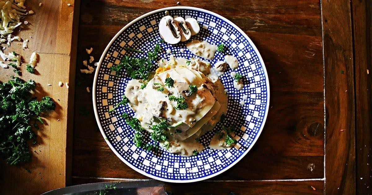 veggie-Lasagne-pilzlasagne-schnellelasagne-einfaches-nudelgericht-linsenrezept-pilzerezept-zubereiten-vegetarisch-perfektes-dinner-6