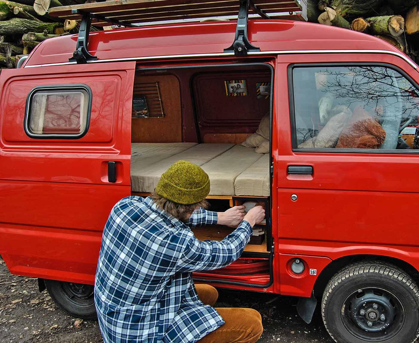 Suzuki Super Carry Camper Conversion