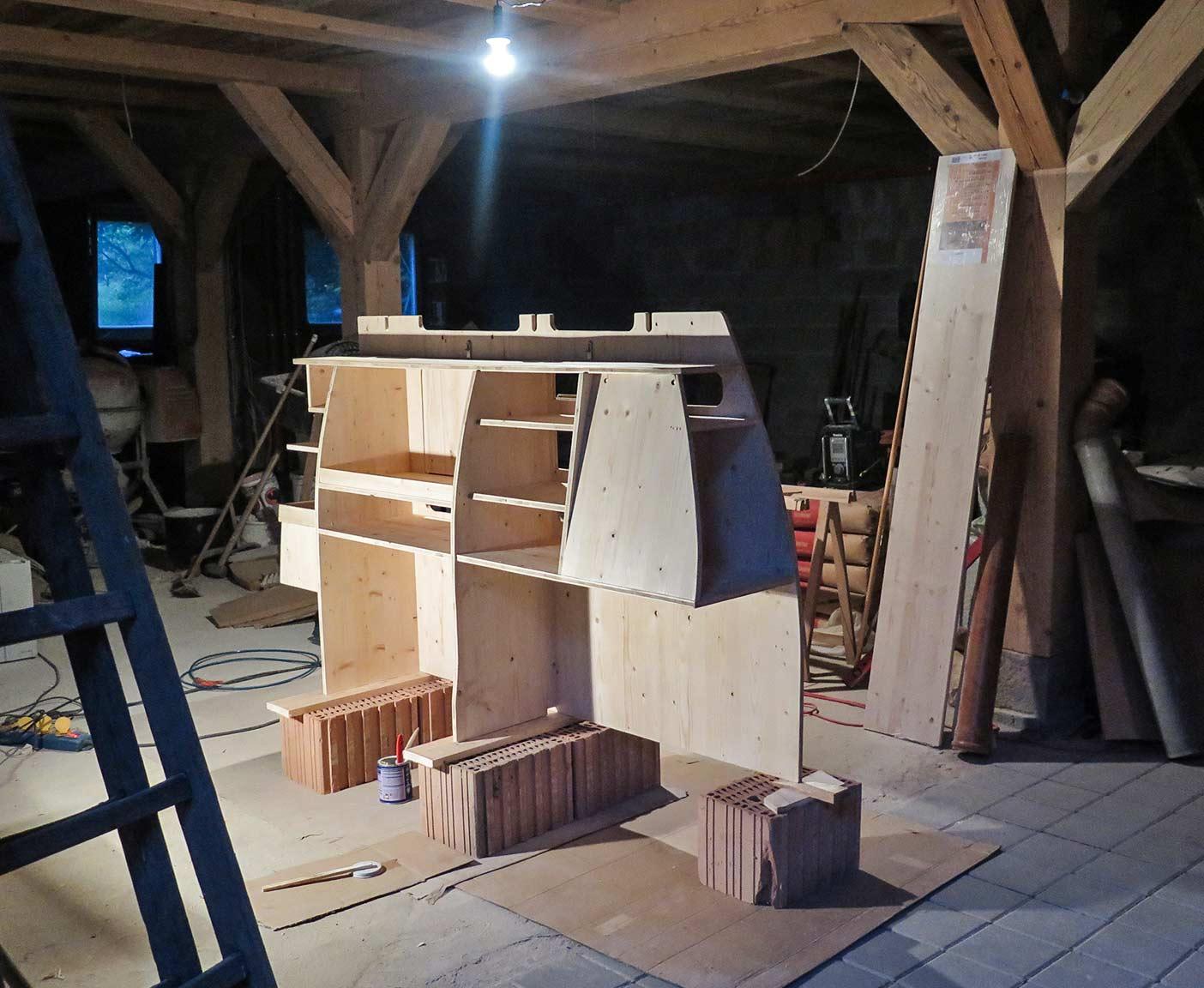 Camping Außenküche Selber Bauen : Piaggio porter der kleinste camper ausbau als wohnmobil