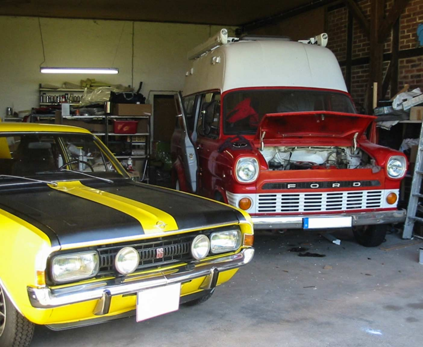 Ford transit mk1 als camper oldtimer wohnmobil im for Garage ford auch