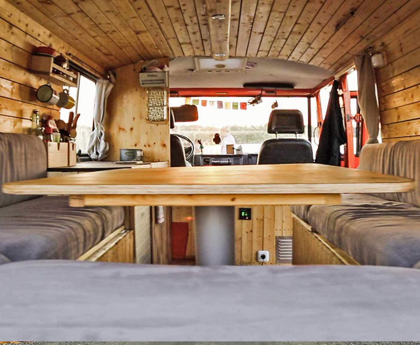 mercedes 407d als gebrauchtes wohnmobil ausbauen. Black Bedroom Furniture Sets. Home Design Ideas