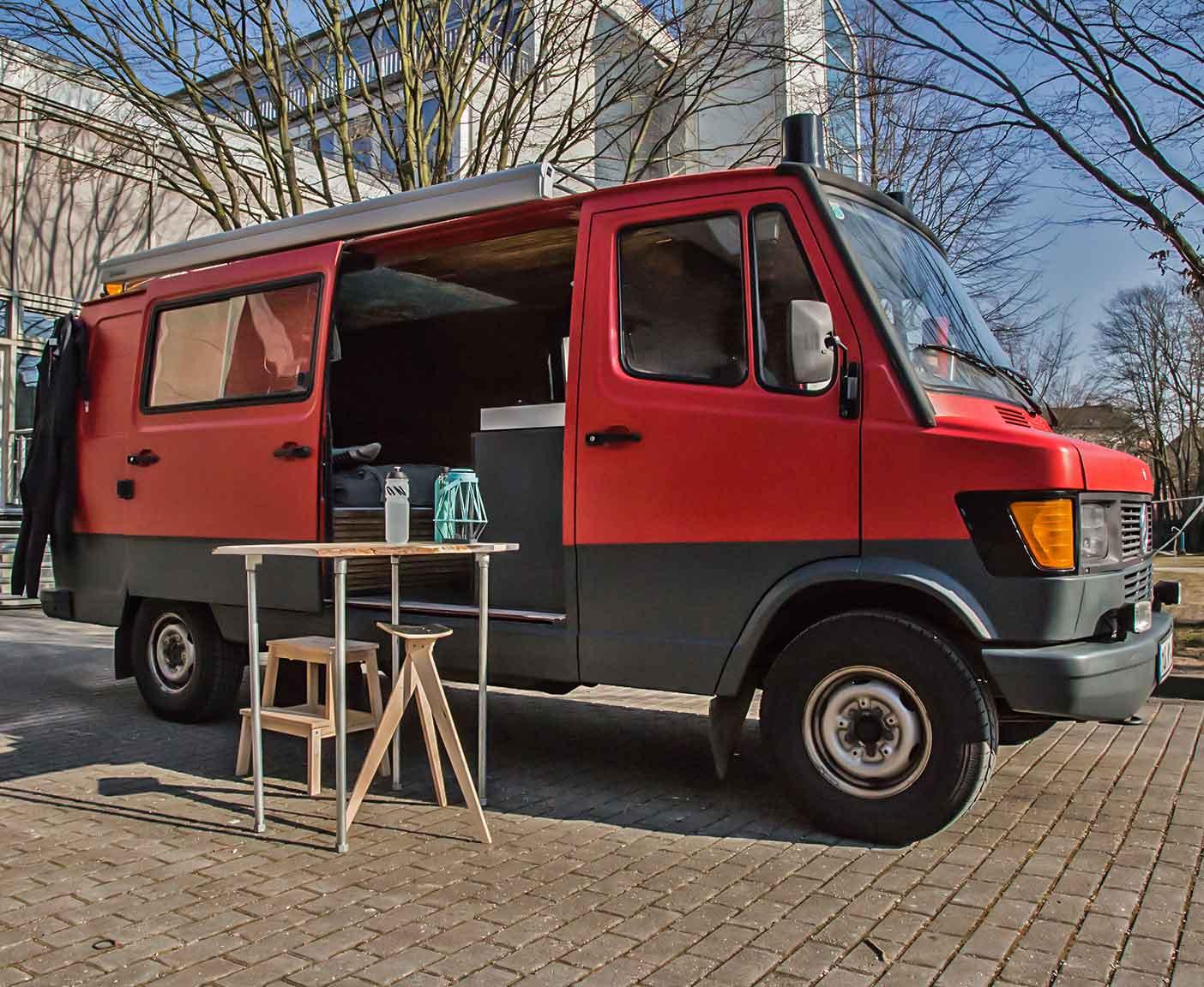 Mercedes 310 Die Feuerwehr Wird Zum Wohnmobil