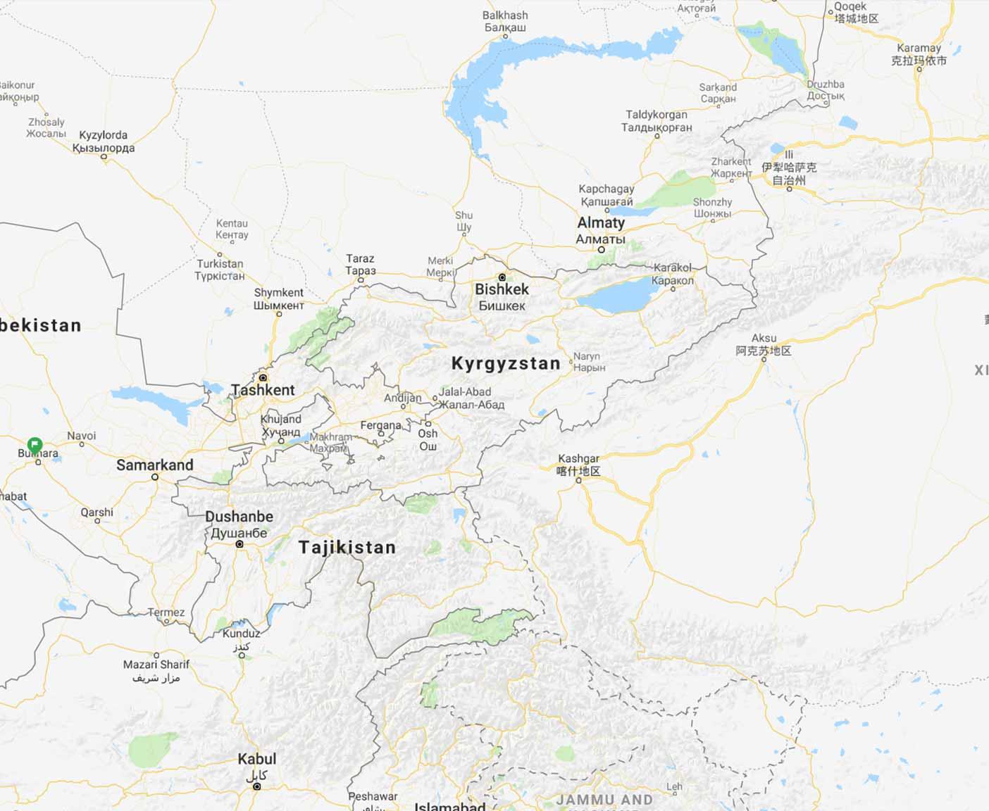 kirgisistan-karte-reisezentralasien
