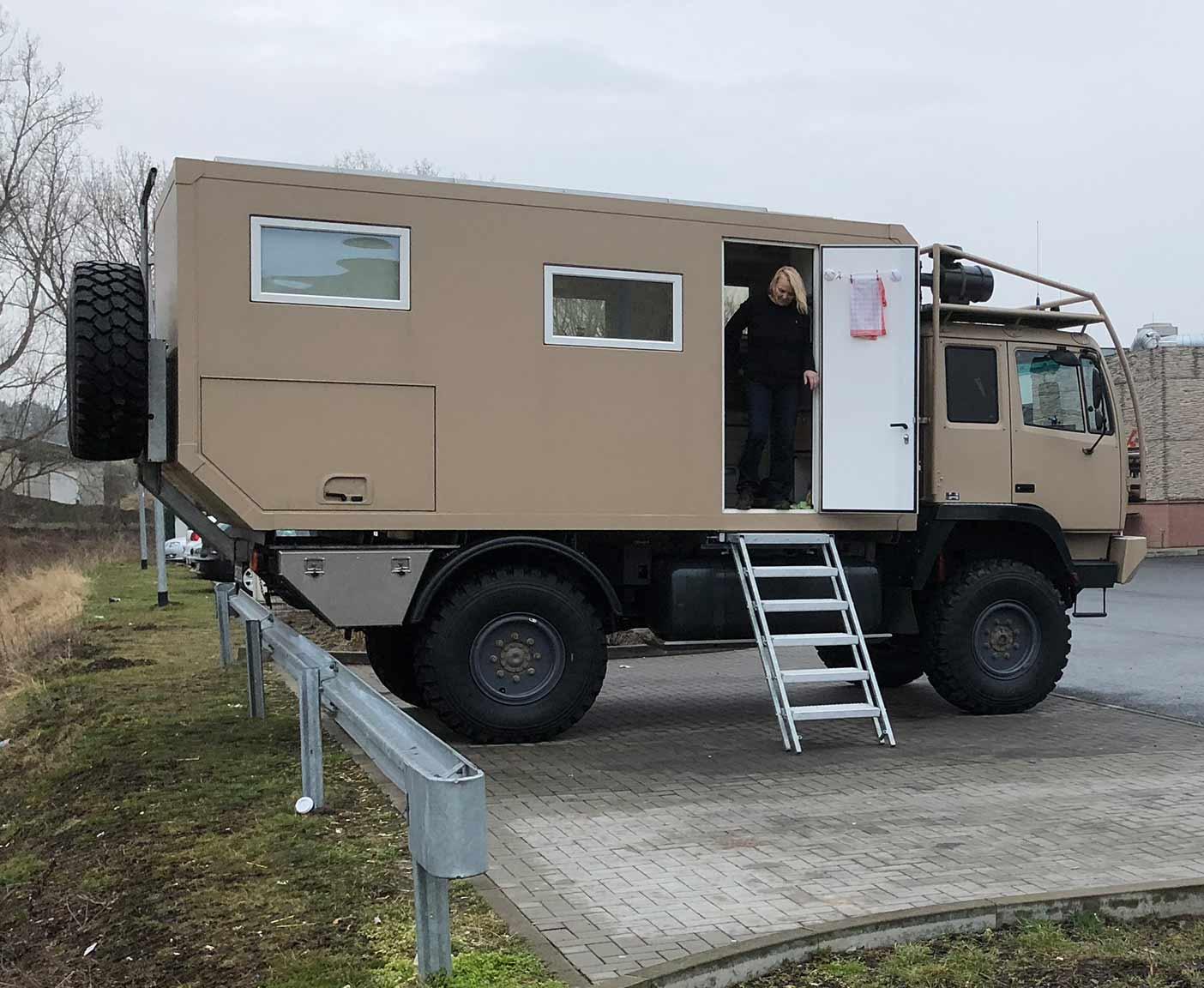 Steyr 12M18 - Mit dem Expeditionsmobil die Rente genießen