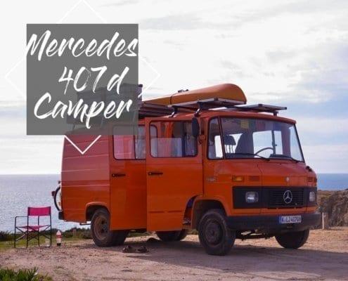 Mercedes-407d-camper-düdo-leergewicht-wohnmobil-strand-meer-freistehen