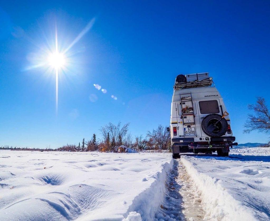 Kanada_VW-LT-28-Winter-Schnee-Campen-Weltreise-Florida-Wohnmobil