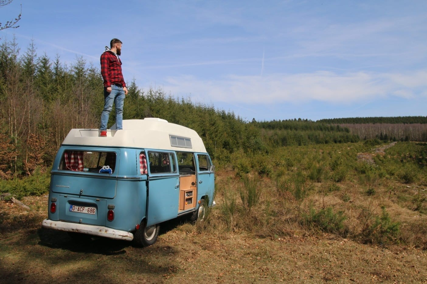 Vw-T2-Bulli-VW-Camper-Van-Campervan-camping-view-vanlife-vacations