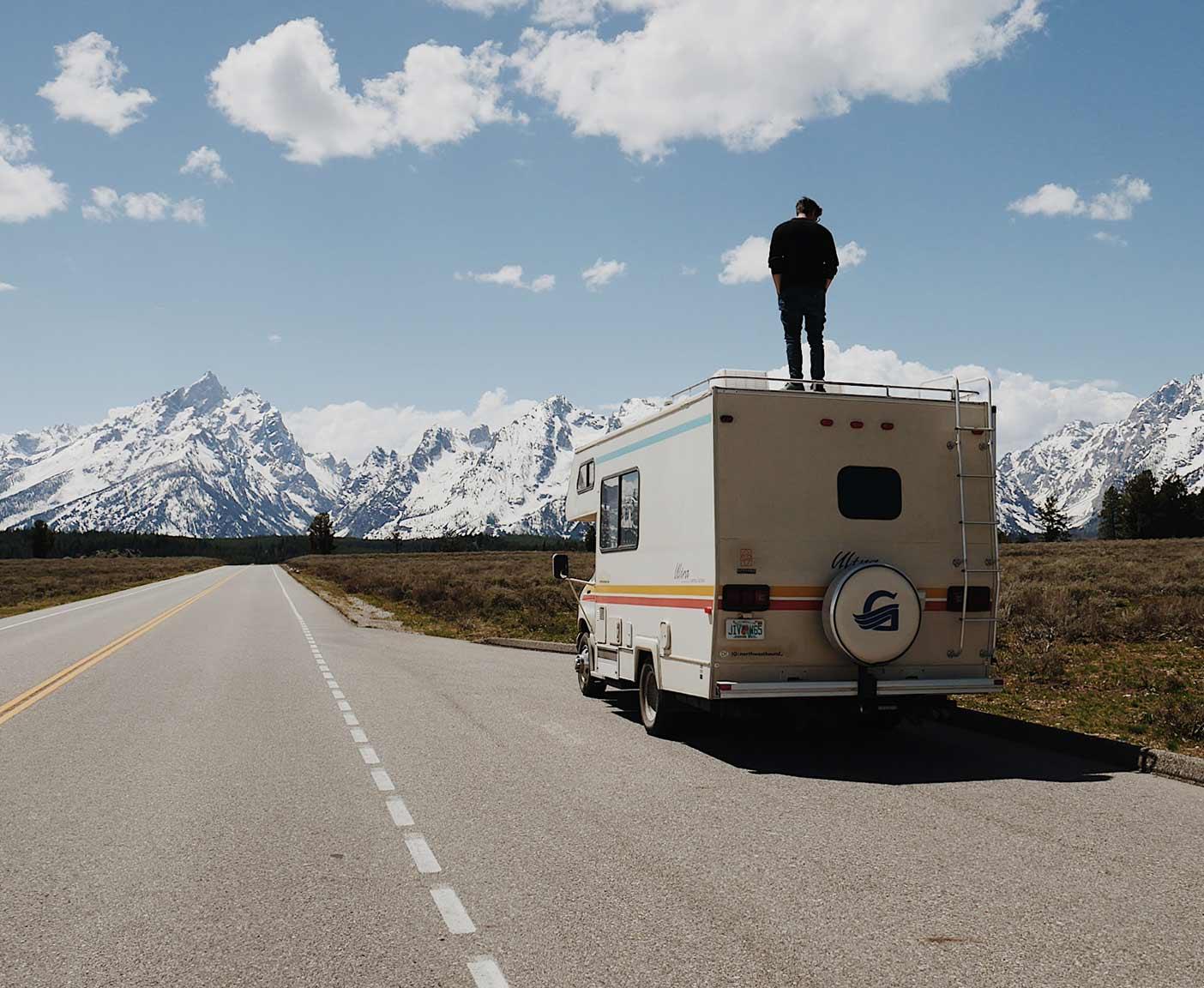 Ford-E350-Van-Wohnmobil-super-duty-usa-trip-vanlife-berge
