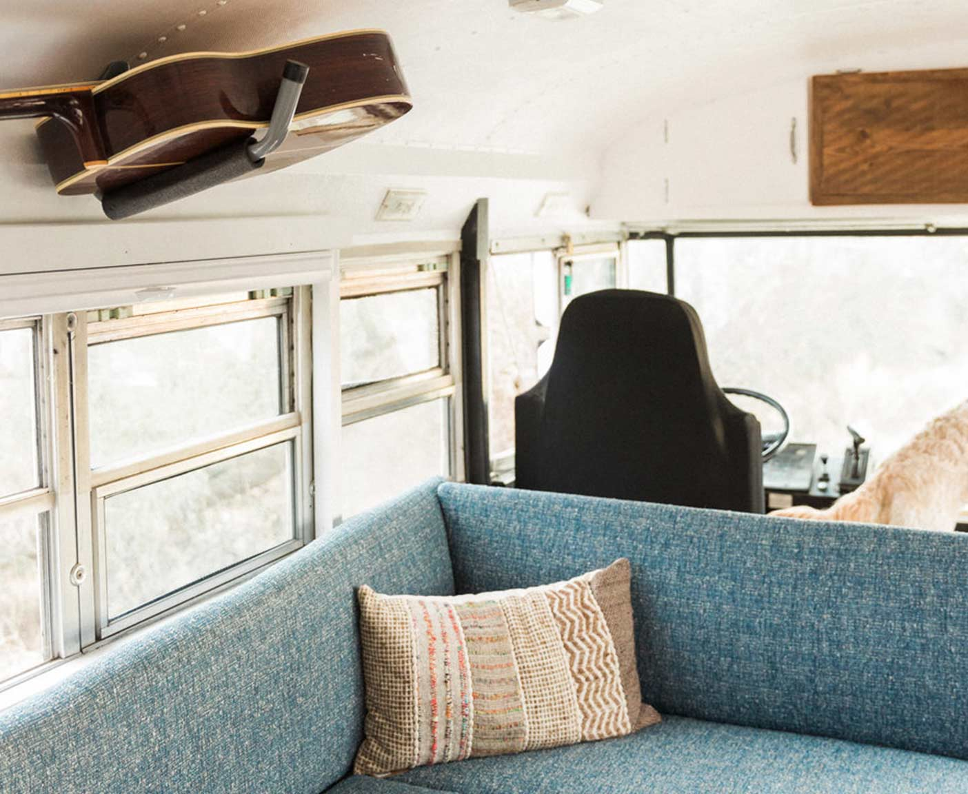 contented-nomads-international-amtran-school-bus-for-sale-genesis-living-room