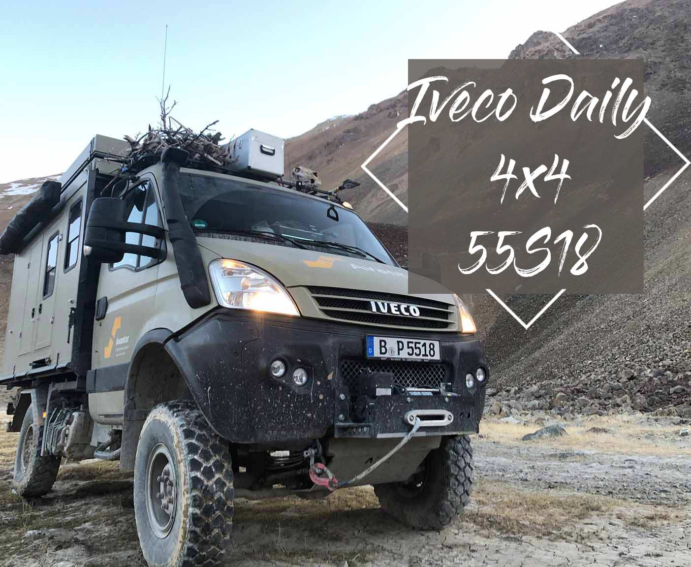 IVECO DAILY 10x10 10S10 - ein Familien-Wohnmobil mal anders