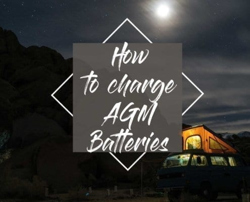 AGM batteries - Recharge AGM batteries correctly