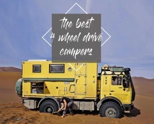 Four Wheel Camper: The best 14 basic vehicles with 4x4 for a trip around the world