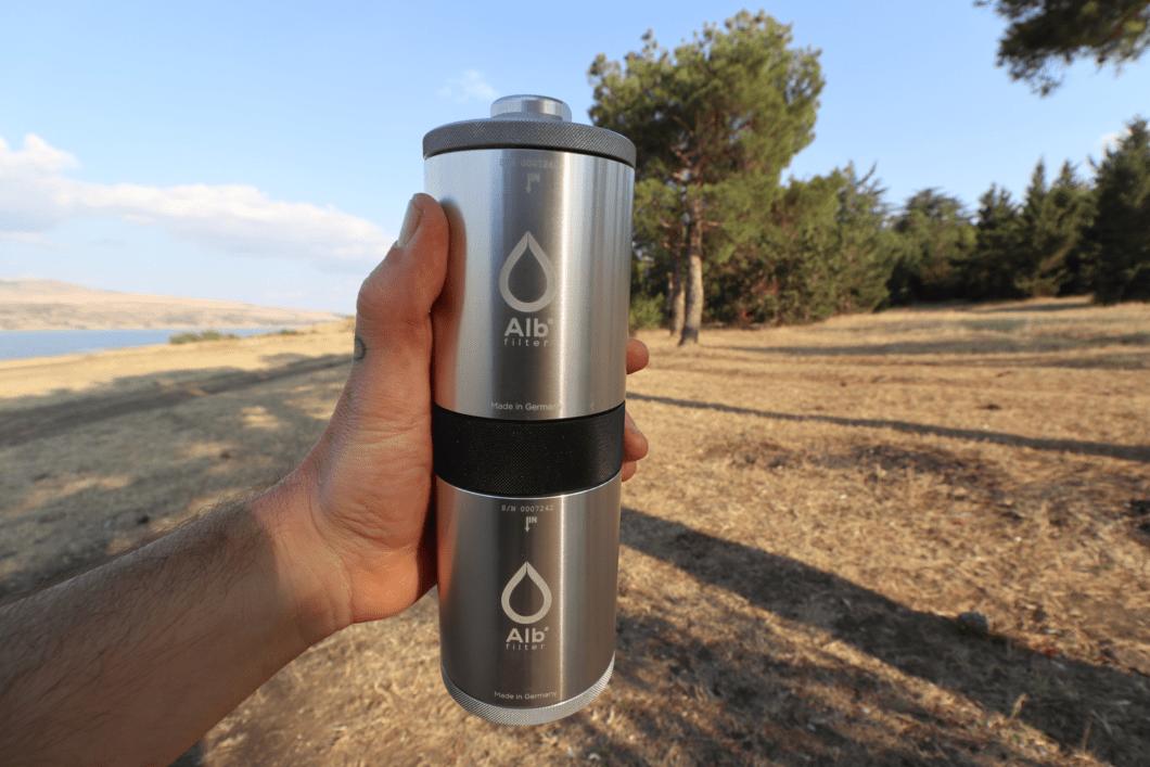 Trinkwasserhygiene im Wohnmobil Alb Filter Original BIOLOGISCH abbaubare Wasserfilter + Duschfilter Trinkwasser