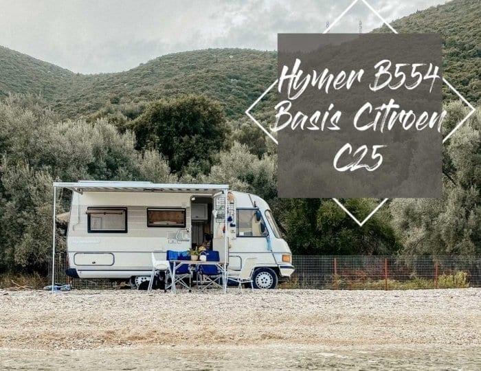 Hymer B554 Basis Citroen C25 - ein Bus und seine Bande