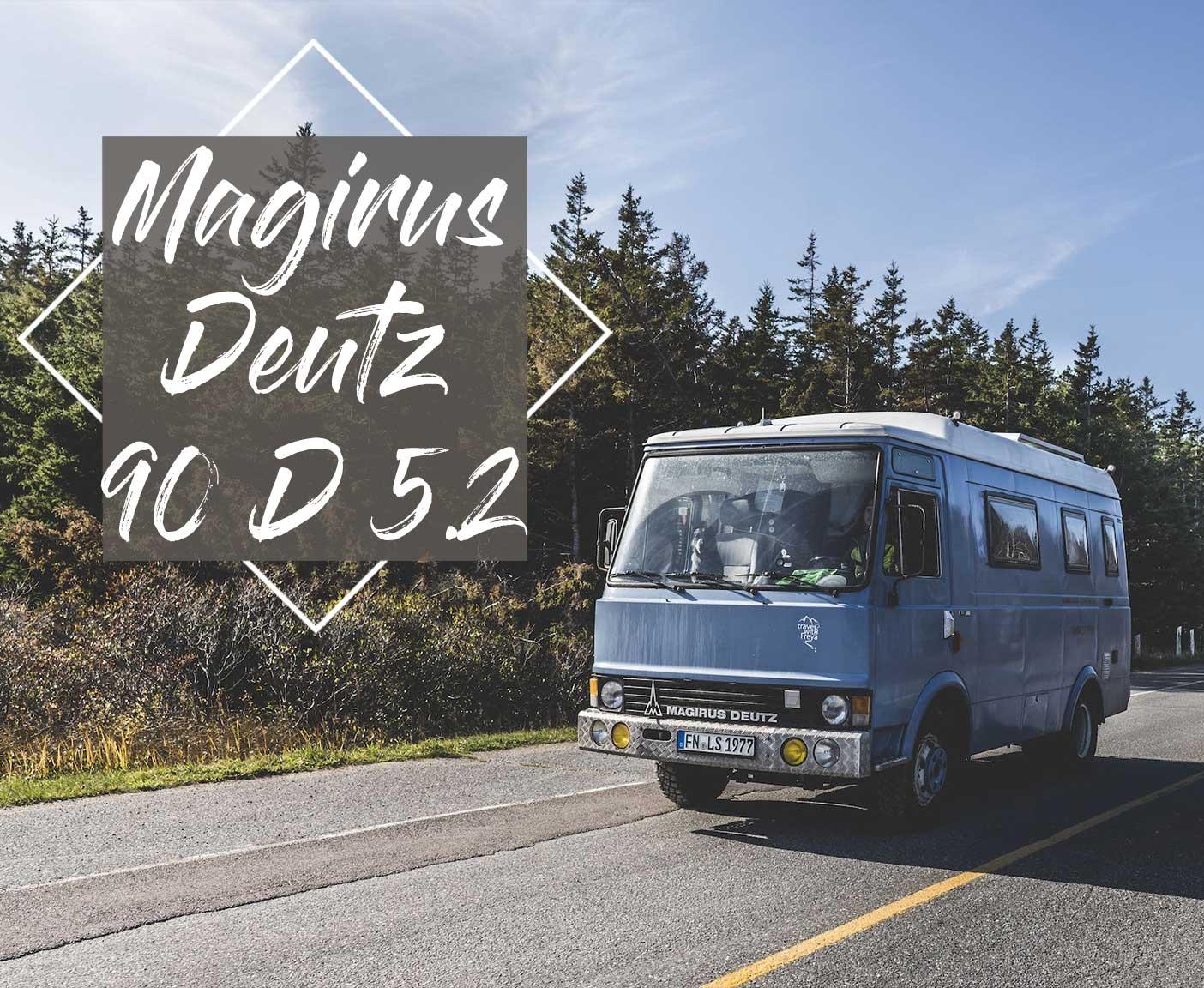 Magirus Deutz 90 D 5.2 ein wilder Siebziger