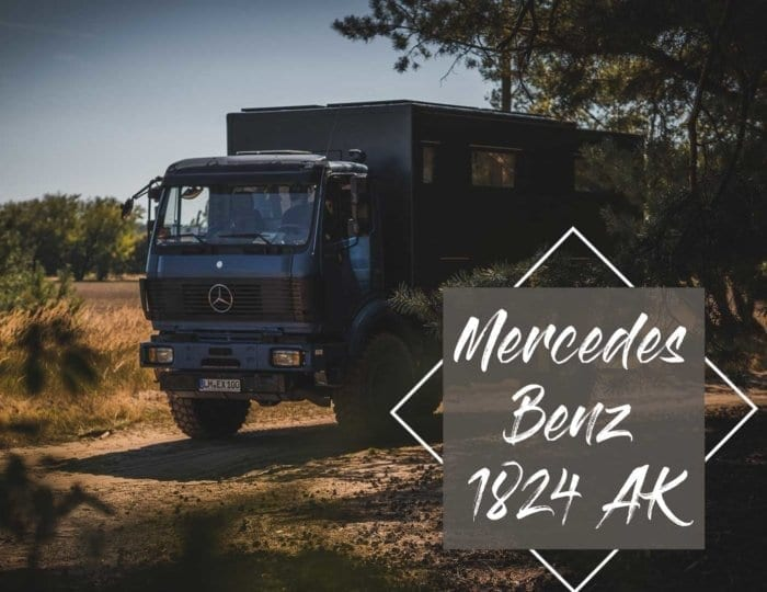 Mercedes Benz 1824 AK - Digitale Nomaden im Expeditionsmobil