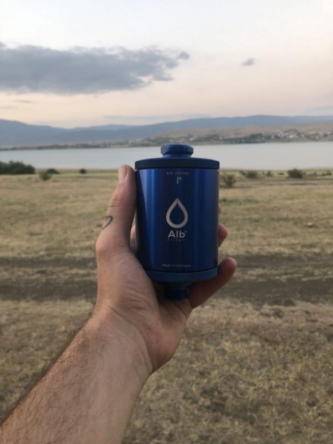 Trinkwasserhygiene im Wohnmobil Alb Filter Original BIOLOGISCH abbaubare Wasserfilter + Duschfilter Trinkwasser-4
