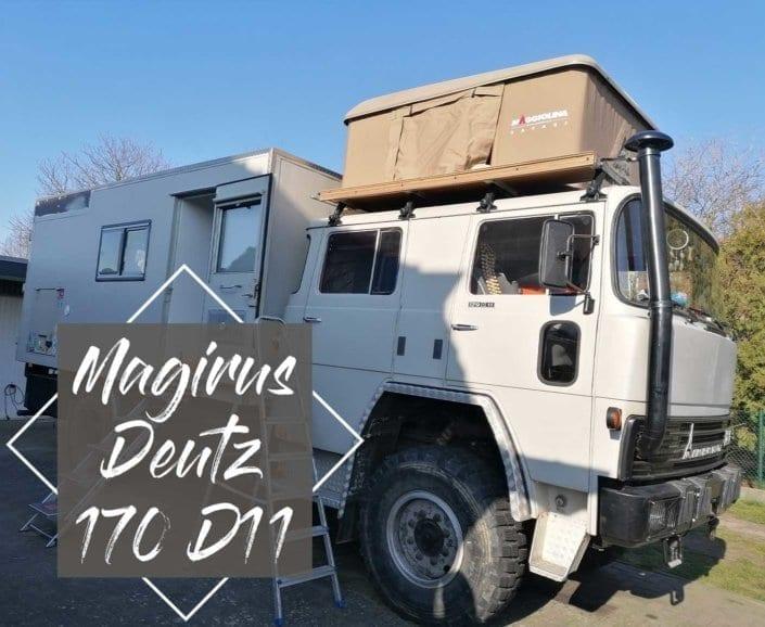 Magirus Deutz 170 D11 - zuerst Feuerwehr, dann Expeditionsmobil